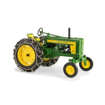 Tomy John Deere 1/16 620 Tractor Wide Front with Chains Prestige