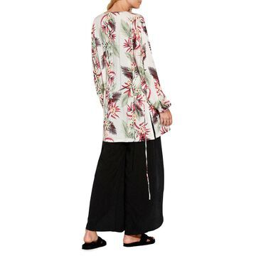 Ocean Alley Printed Kimono Coverup