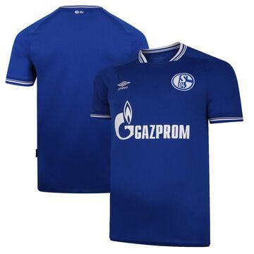Umbro FC Schalke 04 Blue 2020/21 Home Replica Jersey