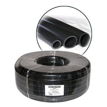 Alpine Wall PVC Black Tubing, 1 Inch Diameter, 8.66 Inch Tall