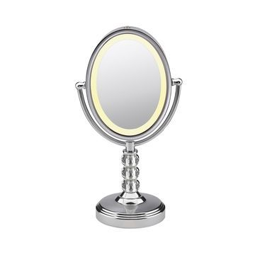 Conair Reflections Oval Crystal Ball Accent Mirror