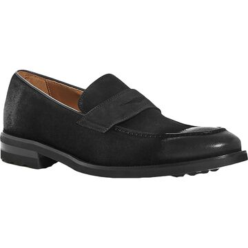 Bruno Magli Mens Bryan Loafers Leather Ankle - Black Suede