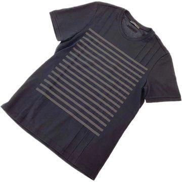 Z Zegna Black Cotton T-shirts