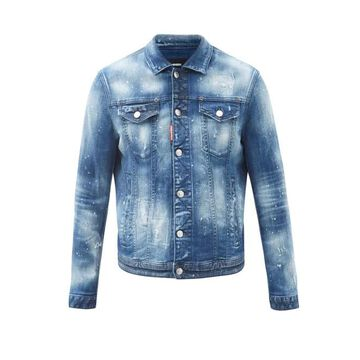 Dsquared2 - Dan Distressed Denim Jacket - Mens - Blue