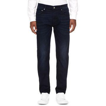 Calvin Klein Jeans Mens Slim Leg Jeans Denim Faded