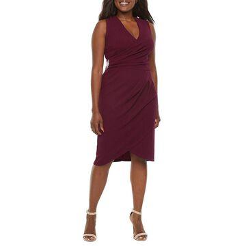 Scarlett Sleeveless Embellished Sheath Dress