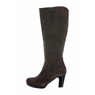 Suede Boots Grey