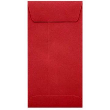#7 Coin Envelopes (3 1/2 x 6 1/2) - Ruby Red (500 Qty.)