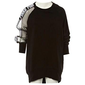 Pinko Black Polyester Dresses