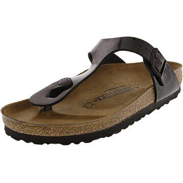 Birkenstock Gizeh Bs Patent Leather Sandal