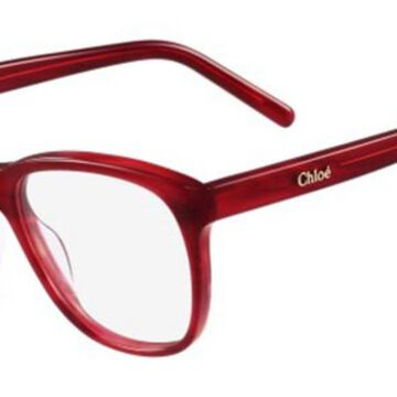 Chloe CE 2686 606 Womenas Glasses Burgundy Size 53 - Free Lenses - HSA/FSA Insurance - Blue Light Block Available