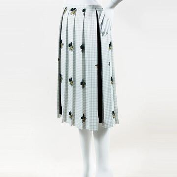 Victoria Beckham Green Polyester Skirts