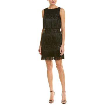 Badgley Mischka Womens Sheath Dress