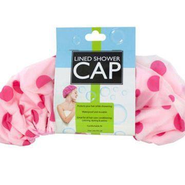 Bulk Buys Microfiber Lined Waterproof Shower Cap
