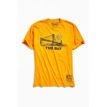 Mitchell & Ness Golden State Warriors Bay Tee