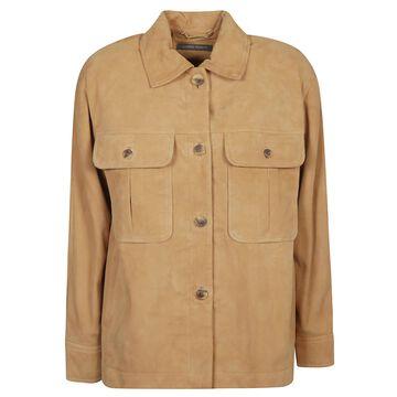 Alberta Ferretti Classic Leather Jacket