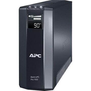 APC by Schneider Electric Back-UPS Pro BR900GI 900 VA Tower UPS - Tower - 5 Minute Stand-by