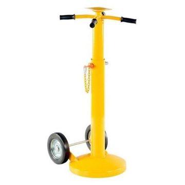 Vestil Economy Stabilizing Jack With 2 Wheels, 5000lbs.s