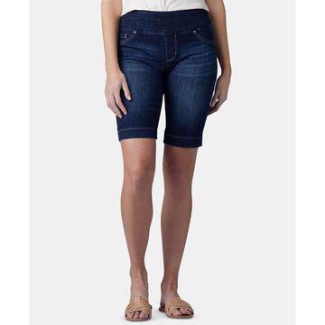 Petite Pull-On Bermuda Shorts