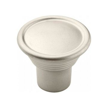 Amerock Knob 30mm Diameter - Satin Nickel BP24010-SN