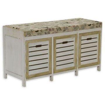 Household Essentials Entryway Storage Bench