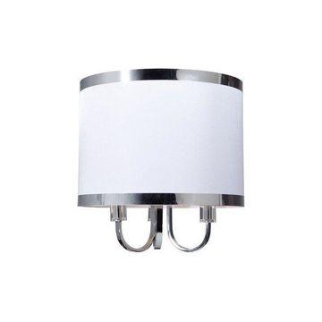 Madison 3-Light White Chandelier