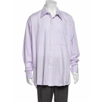 Long Sleeve Dress Shirt Purple