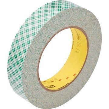 Scotch, MMM410M1, Double-Coated Paper Tape, 1 Roll, White