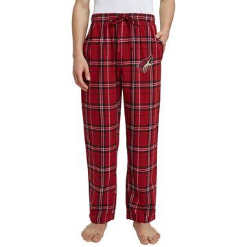 Concepts Sport Men's Arizona Coyotes Hillstone Maroon Flannel Pants