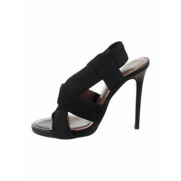 Slingback Sandals Black