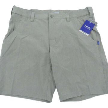 Huk Men's Beacon Iron Size XXX-Large Adjustable Waistband Shorts