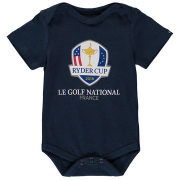 Garb Newborn & Infant 2018 Ryder Cup Logo Otis Bodysuit Navy
