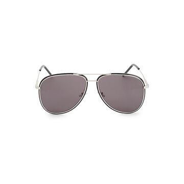 Saint Laurent 61MM Aviator Sunglasses