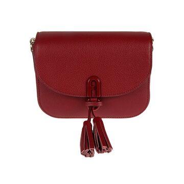 Furla Tassel Applique Shoulder Bag
