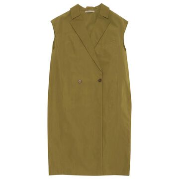 Bottega Veneta Khaki Cotton Dresses