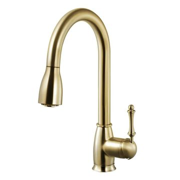 Houzer CAMPD-368 Camden Pull-Down Kitchen Faucet with CeraDox Lifetime Technology