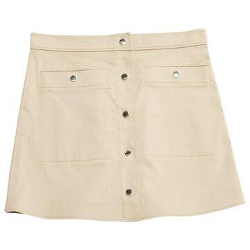 Kenzo Beige Cotton Skirts