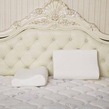 Dasein Premium Contour Memory Foam Pillow with Cover (Set of 2)