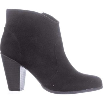 American Rag Womens Aaria Fabric Round Toe Ankle Fashion Boots
