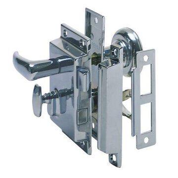 Perko 0918DP0CHR Rim Lock Set - Regular Bevel