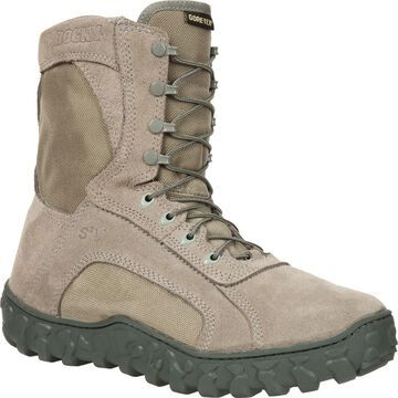 Rocky S2V: Sage Green Waterproof Insulated Military Boot