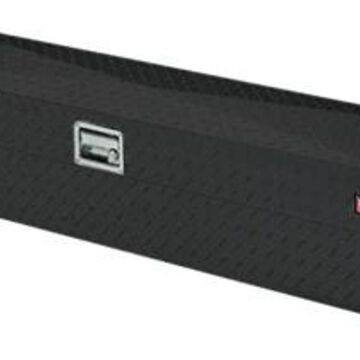 Lund Challenger Side Mount Truck Tool Box in Black, Fits Full Size Trucks - Small Toolbox
