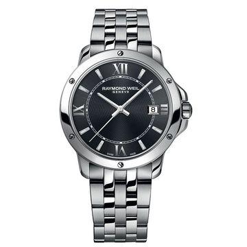 Raymond Weil 5591-ST-00607 Mens Tango Dark Gray Quartz Watch