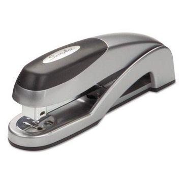 Swingline Optima Desk Stapler, Full Strip, 25-Sheet Capacity, Silver