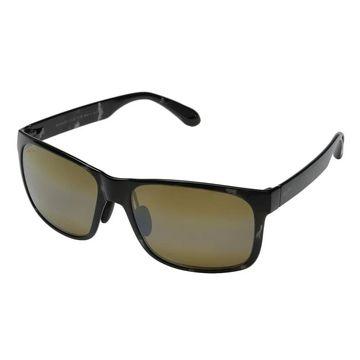 Maui Jim Red Sands H432-11T Unisex Black-Grey Tortoise Frame Bronze Lens Sunglasses