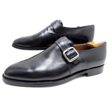 Church's Black Leather Flats