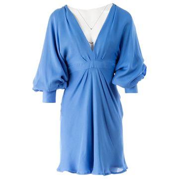 Paul & Joe Blue Silk Dresses