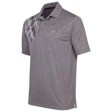 Greg Norman Mens Wheeler Golf Rugby Polo Shirt