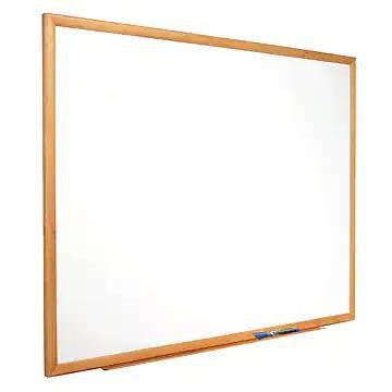 Quartet Standard Total Erase Dry-Erase Whiteboard, 6' x 4' (S577)