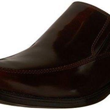 Bostonian Men's Kinnon Apron Slip-On Loafer, Burgundy, 11 M US